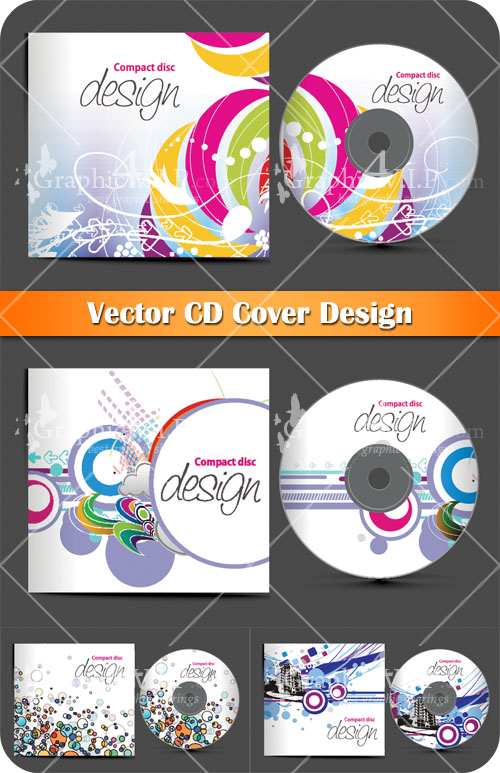 CD Cover Design - Stock Vectors