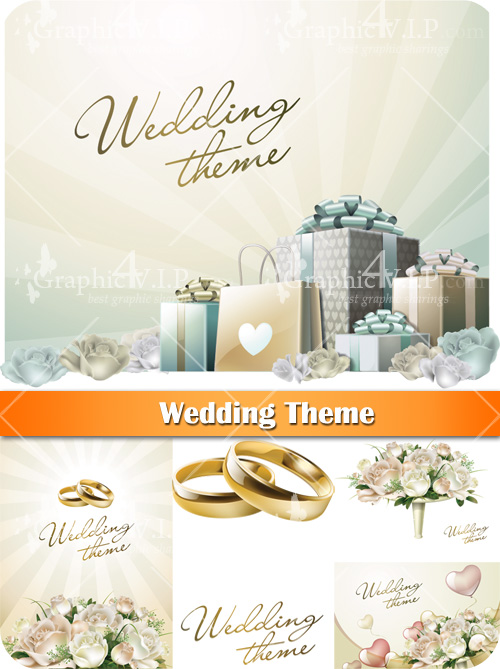 Wedding Theme - Stock Vectors