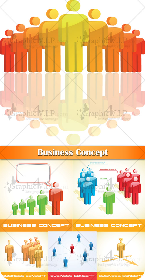 Business Concept - Stock Vectors
