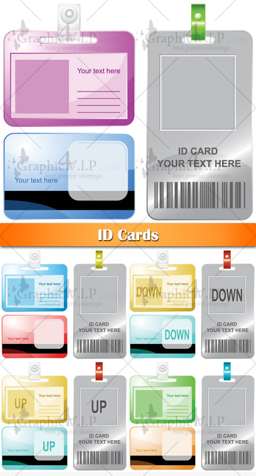 ID Cards - Stock Vectors