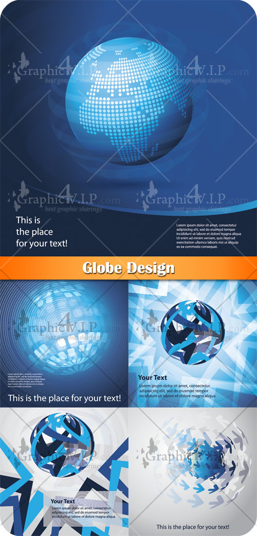 Globe Design - Stock Vectors