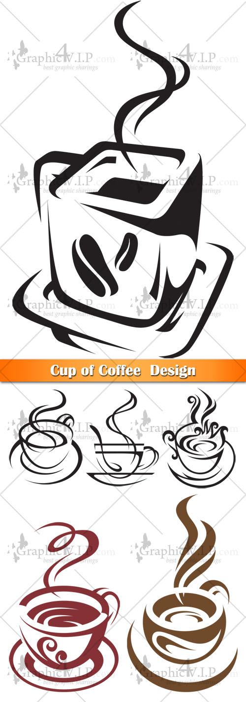 Cup of Coffee  Design - Stock Vectors