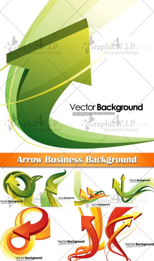 Arrow Business Background - Stock Vectors