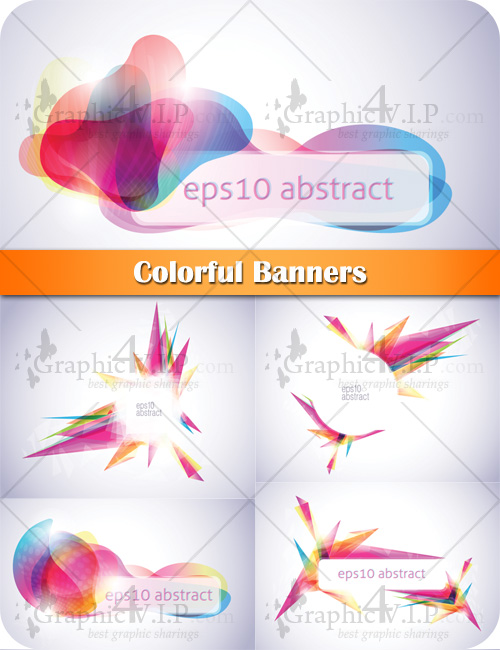 Colorful Banners - Stock Vectors
