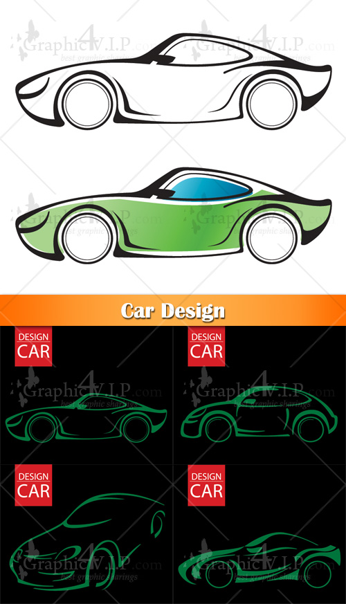 Car Design - Stock Vectors