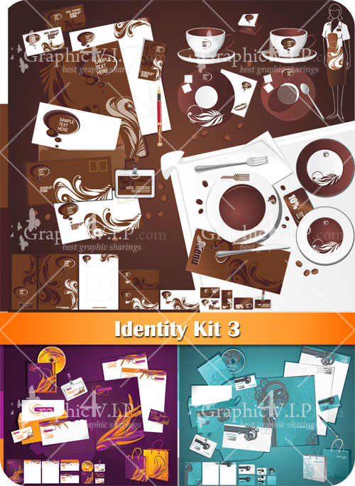 Identity Kit 3 - Stock Vectors