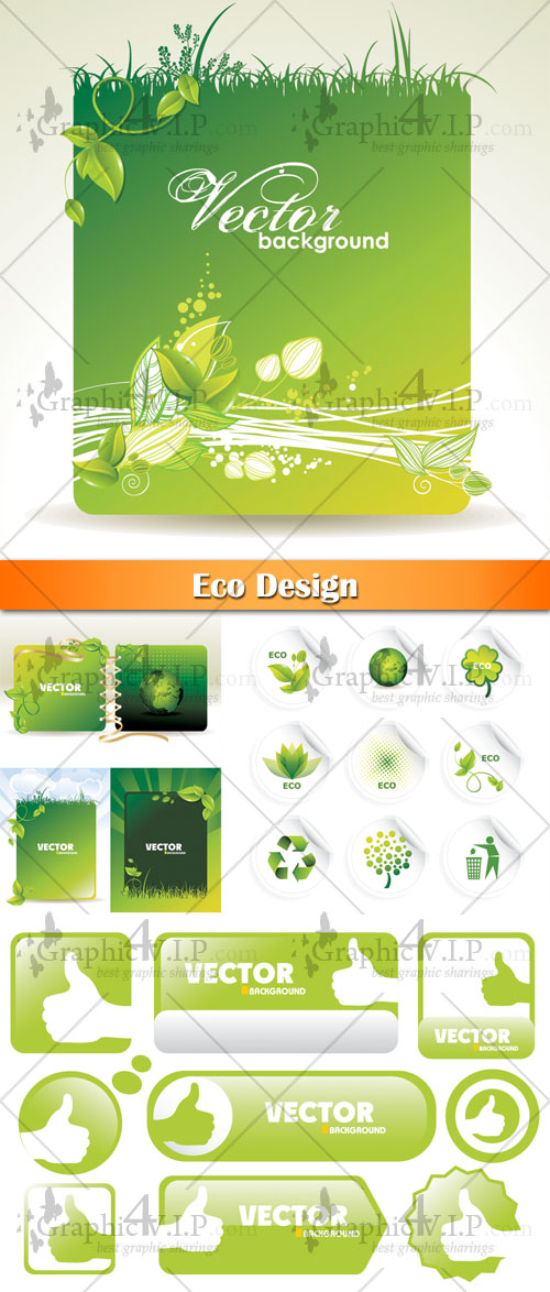 Eco Design - Stock Vectors