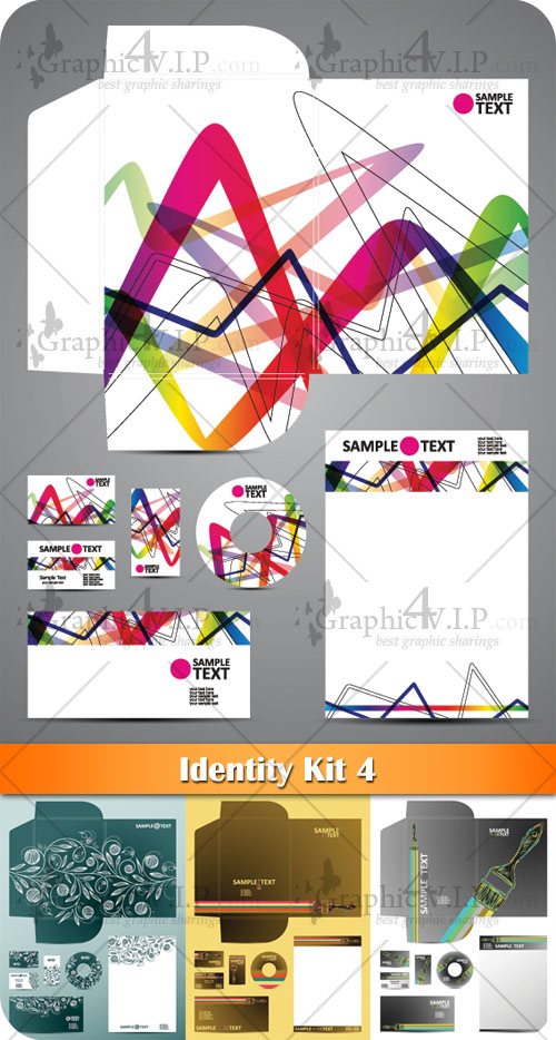 Identity Kit 4 - Stock Vectors