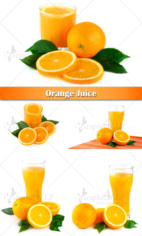 Orange Juice - Stock Photos