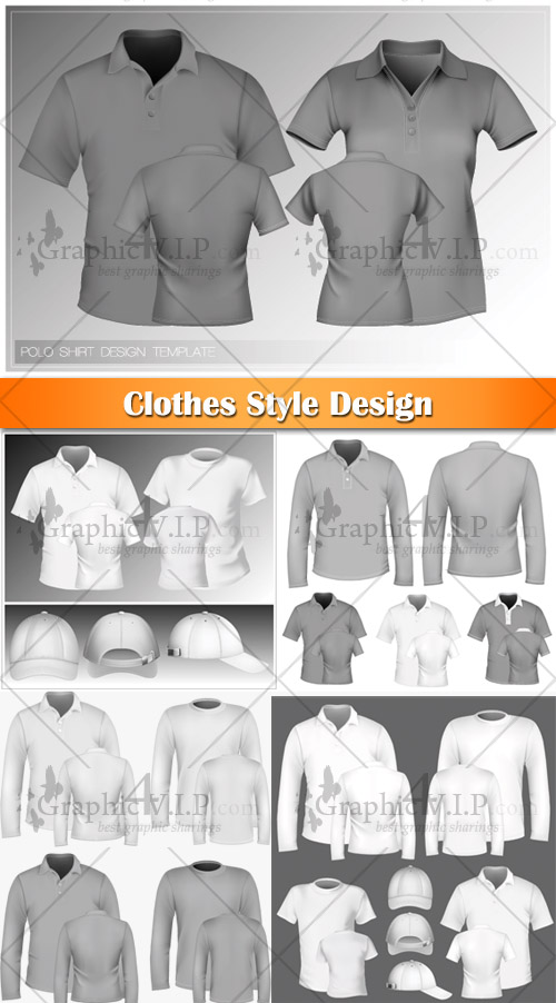 Clothes Style Design - Stock Vectors