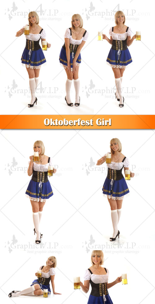 Oktoberfest Girl - Stock Photos