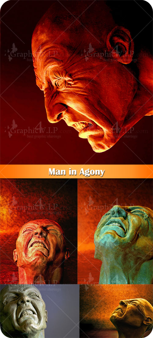 Man in Agony - Stock Photos