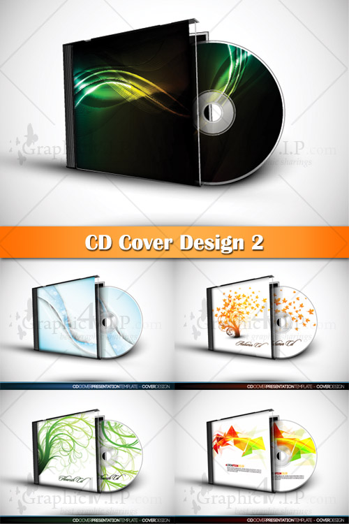 CD Cover Design 2 - Stock Vectors
