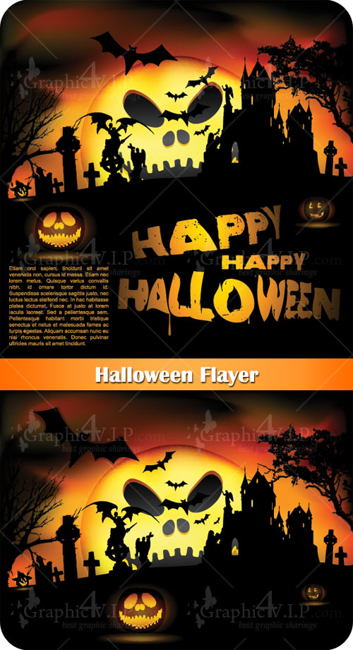 Halloween Flayer - Stock Vectors
