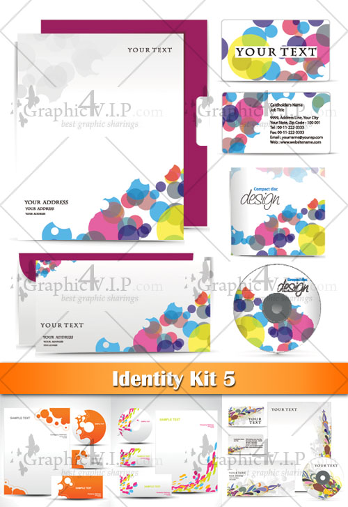 Identity Kit 5 - Stock Vectors
