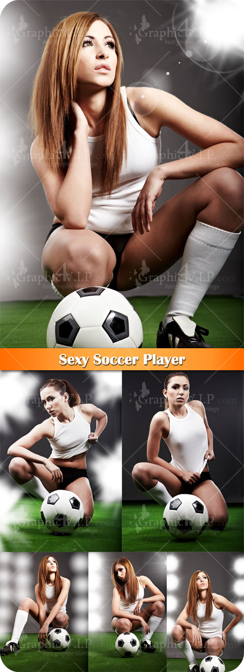 Sexy Soccer Player - Stock Photos