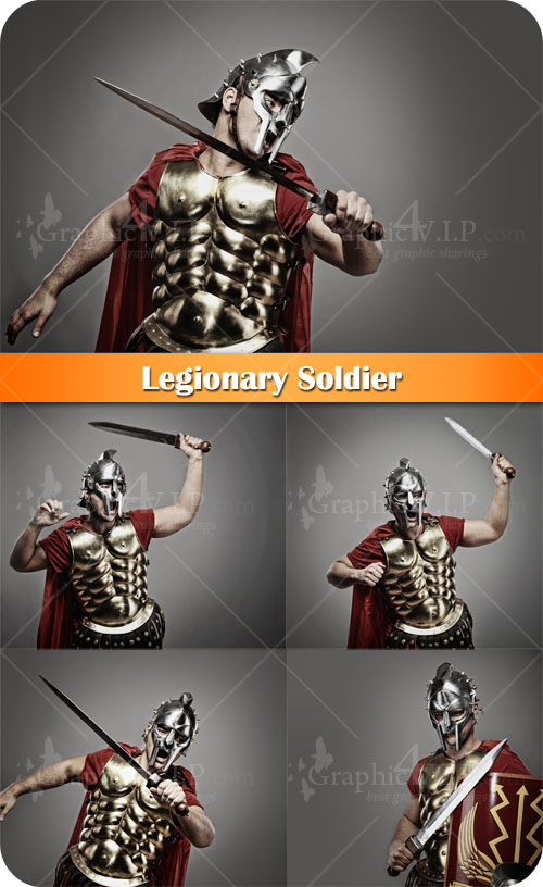 Legionary Soldier - Stock Photos