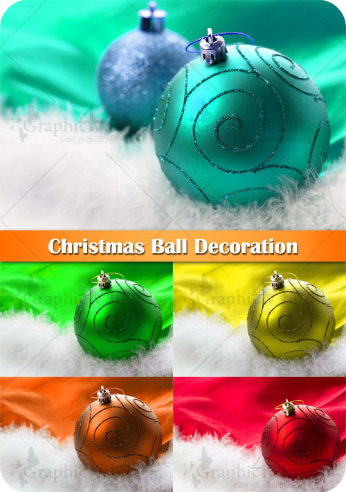 Christmas Ball Decoration - Stock Photos