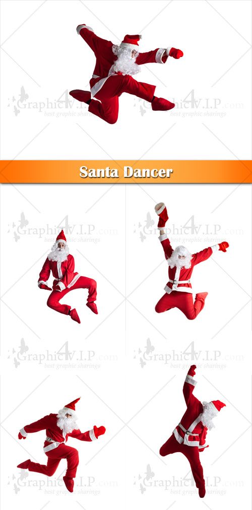 Santa Dancer - Stock Photos