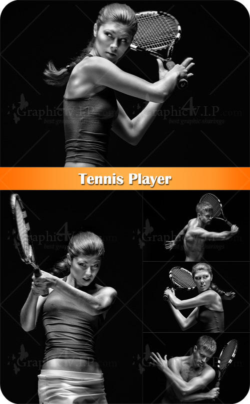 Tennis Player - Stock Photos