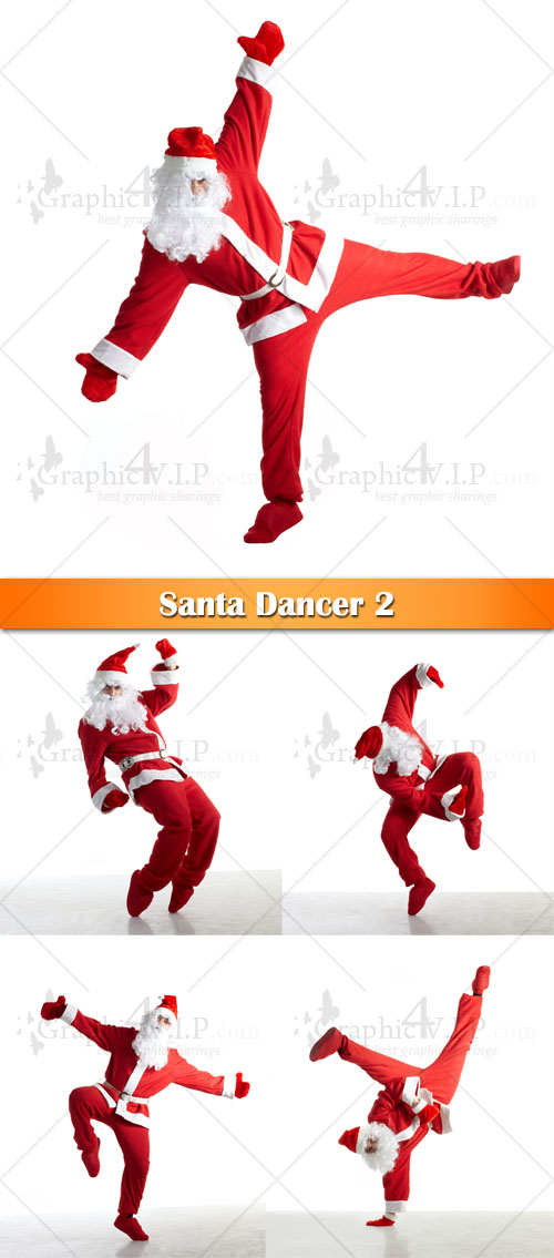 Santa Dancer 2 - Stock Photos