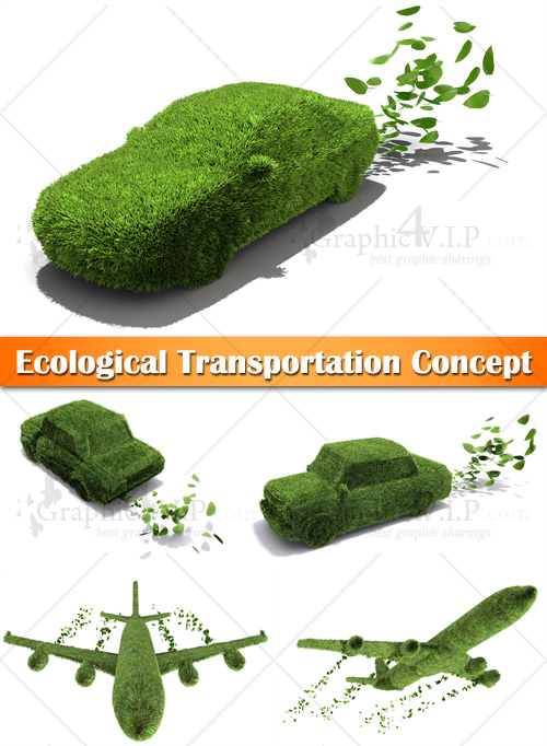 Ecological Transportation Concept - Stock Photos