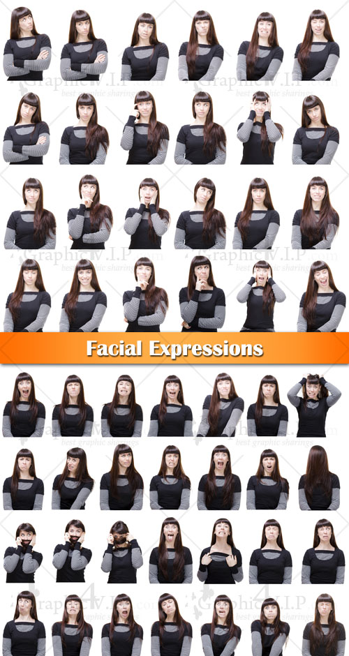 Facial Expressions - Stock Photos