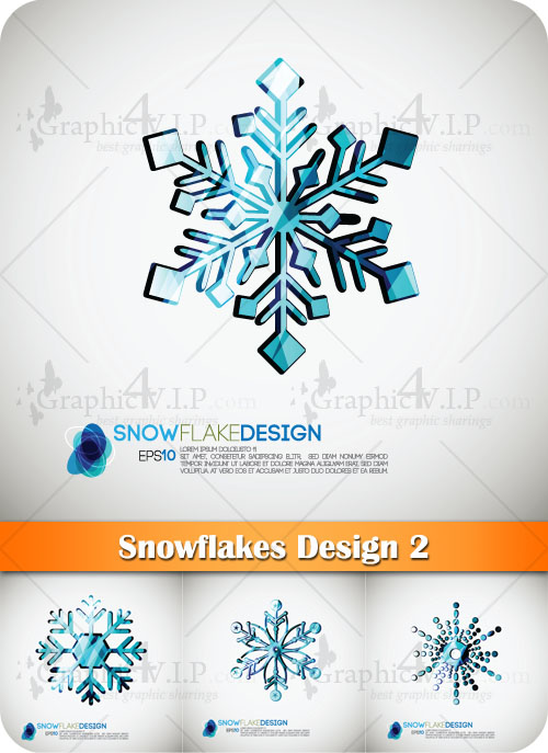 Snowflakes Design 2 - Stock Vectors