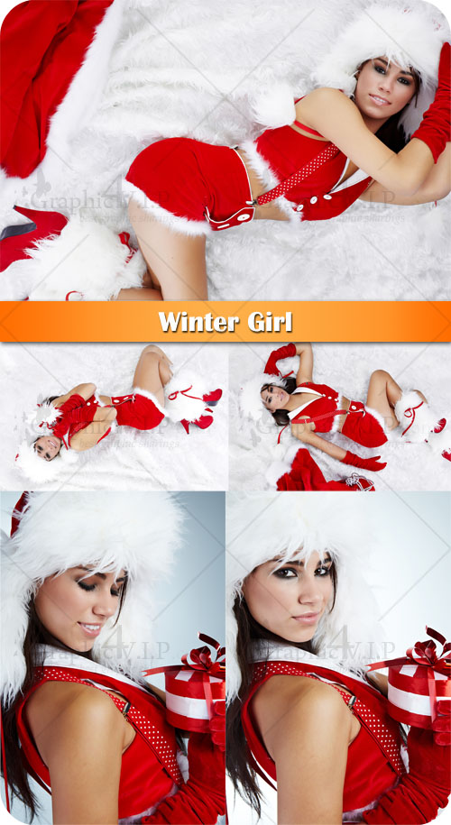 Winter Girl - Stock Photos
