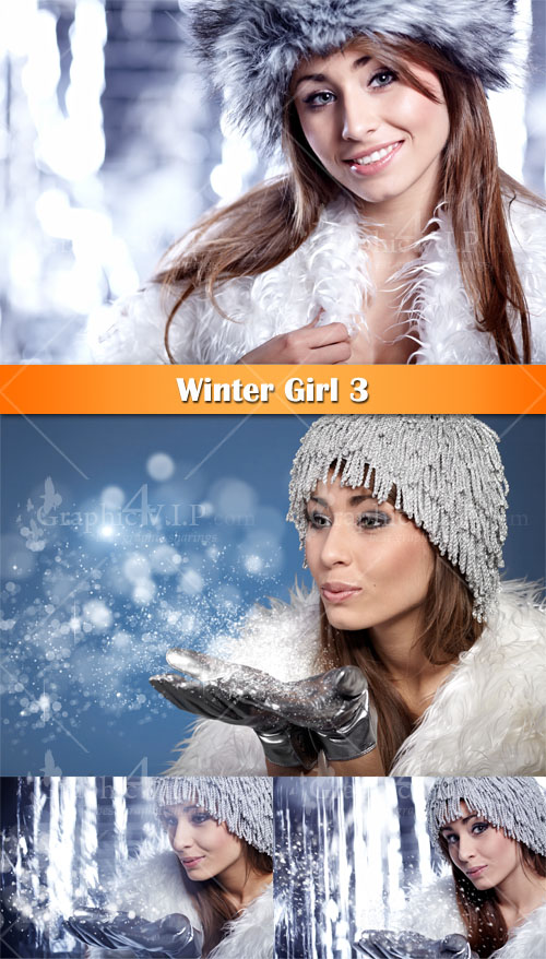 Winter Girl 3 - Stock Photos