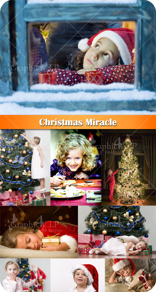 Christmas Miracle - Stock Photos