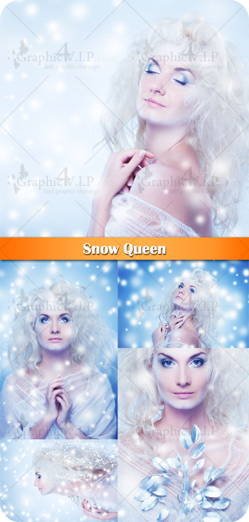 Snow Queen - Stock Photos