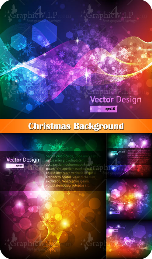 Christmas Background - Stock Vectors