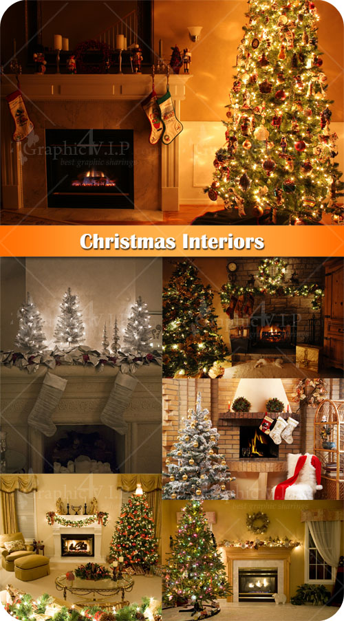 Christmas Interiors - Stock Photos