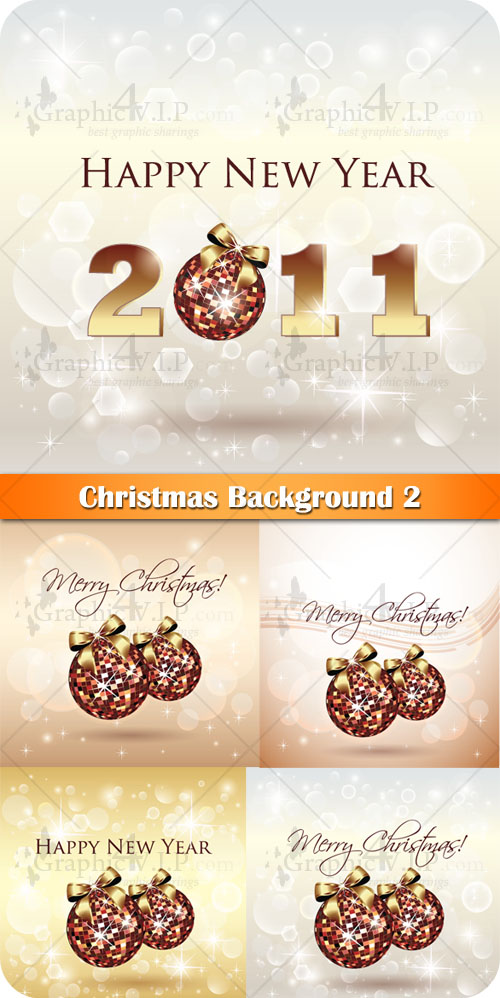 Christmas Background 2 - Stock Vectors