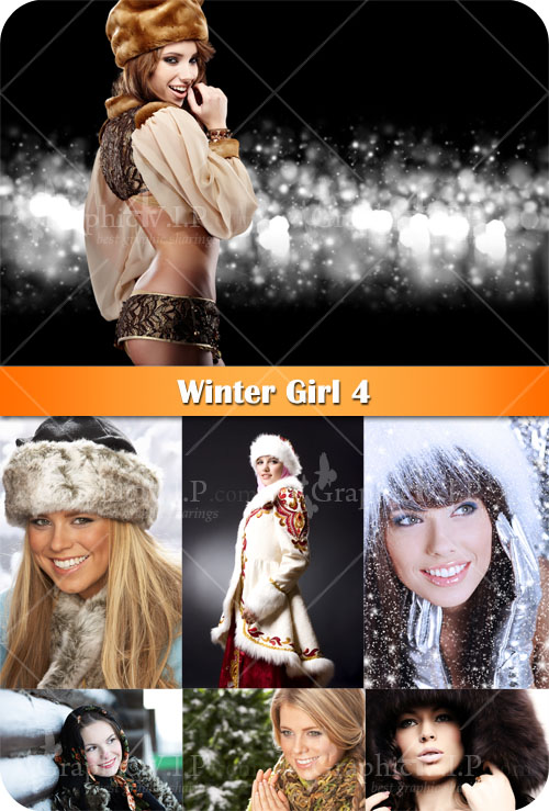 Winter Girl 4 - Stock Photos