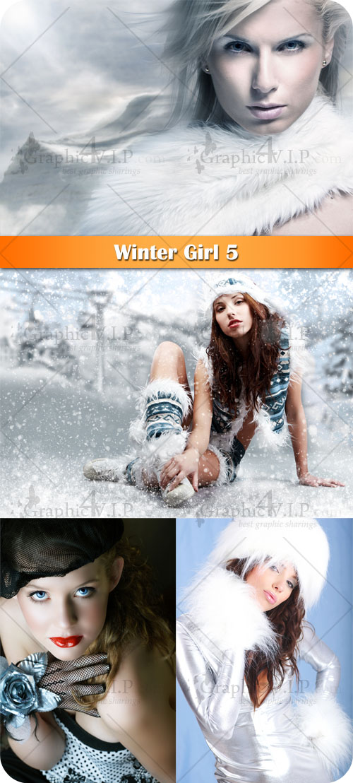 Winter Girl 5 - Stock Photos