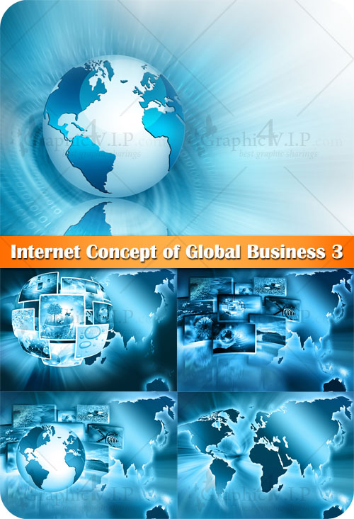 Internet Concept of Global Business 3 - Stock Photos