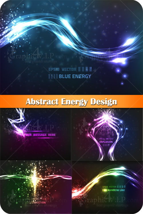 Abstract Energy Design - Stock Vectors