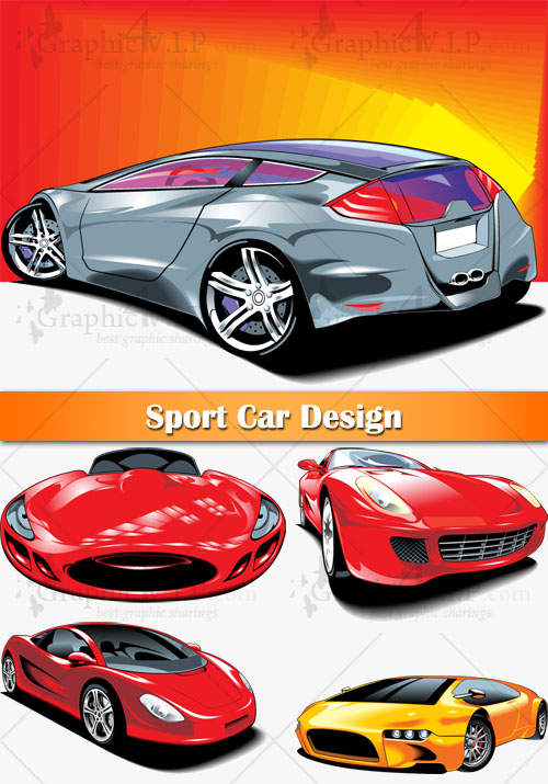 Sport Car Design - Stock Vectors