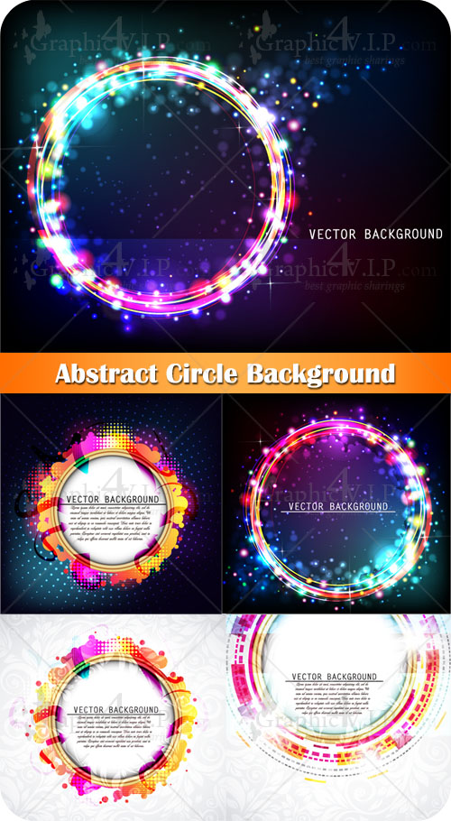 Abstract Circle Background - Stock Vectors