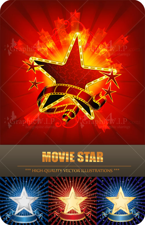 Movie Star - Stock Vectors