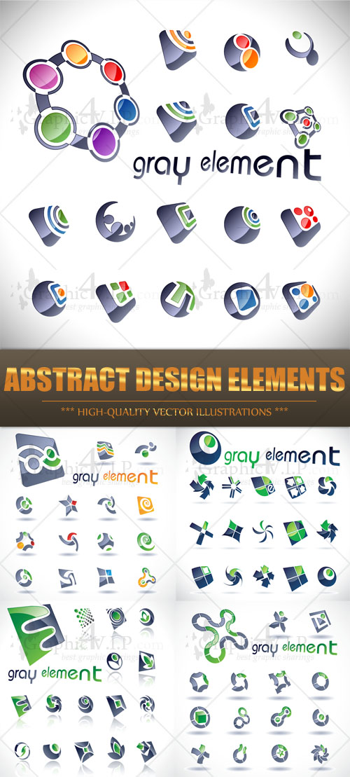 Abstract Design Elements - Stock Vectors