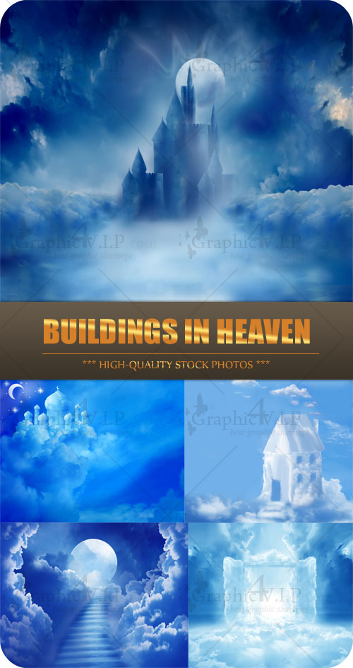 Buildings in Heaven - Stock Photos