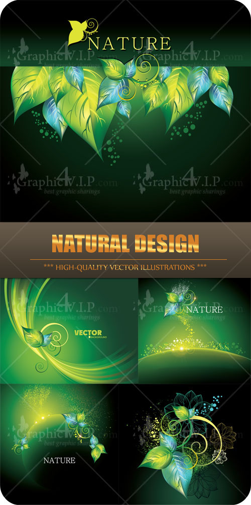 Natural Design - Stock Vectors