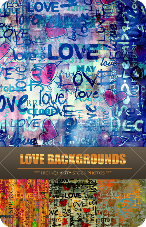 Love Backgrounds - Stock Photos