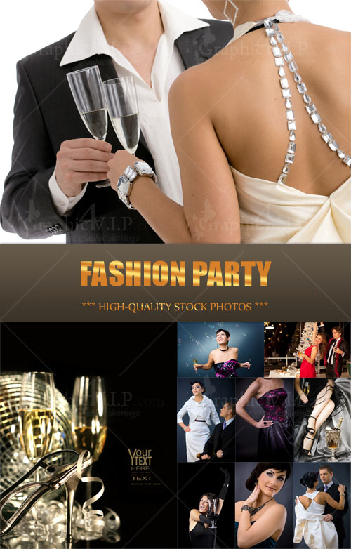 Fashion Party - Stock Photos