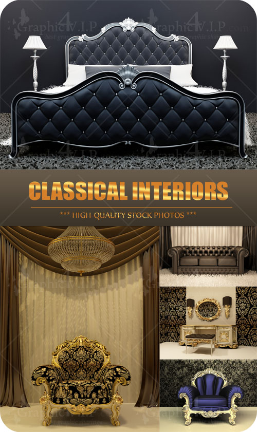Classical Interiors - Stock Photos