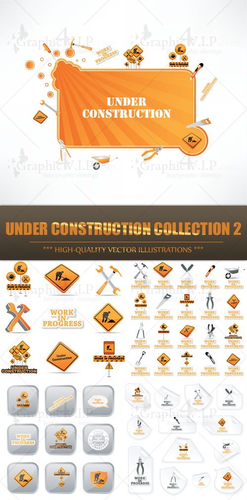 Under Construction Collection 2 - Stock Vectors
