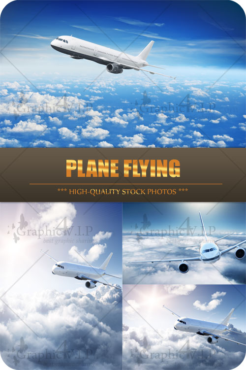Plane Flying - Stock Photos